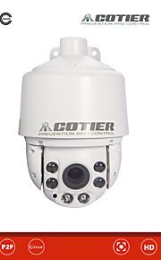 IP Camera - Cotier - All'aperto - PTZ -Impermeabile/Giorno Notte/Sensore di movimento/Dual Stream/Accesso Remoto/Filtro