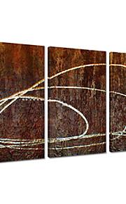 visuele star®abstract handgemaakte olieverf hoge kwaliteit canvas schilderij klaar te hangen