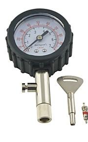 quadrante tester metro camion veicolo pneumatici auto pneumatico dell'automobile pressione manometro 0-100PSI