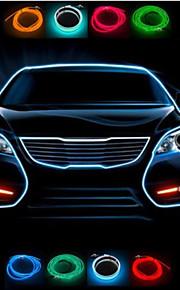 5m interno auto atmosfera refit luce stlying auto el luce fredda ha condotto la luce decorativa con la sigaretta in auto pulg