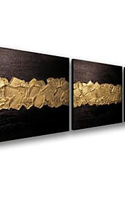 visuele star®abstract opgespannen doek olieverf muur decor kant verf op doek klaar te hangen