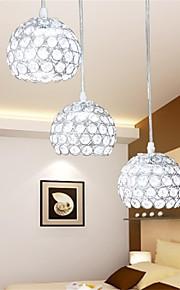 Cristal - Lámparas Colgantes - Cristal/LED/Bombilla incluida - Tradicional/Clásico/Rústico/Campestre/Cosecha/Retro/Farol/Campestre/Esfera