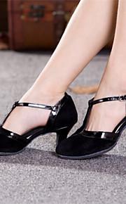 Женская обувь - Искусственная кожа - Номера Настраиваемый ( Черный/Золотой ) - Латино