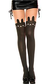 Women's  Cat Print Pantyhose