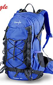 Paquetes de Mochilas de Camping/Ciclismo Mochila/Fundas Para Mochila ( Negro/Azul , 40 L) Impermeable/A prueba de lluvia/Listo para