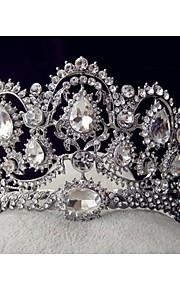 Copricapo Donne Tiare Matrimonio/Occasioni speciali Strass/Lega Matrimonio/Occasioni speciali 1 pezzo