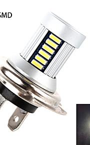h7 30smd 4014 5w 550lm 6000-6500k hvidt lys high-power ledede pære til autolamper (dc10-30v)