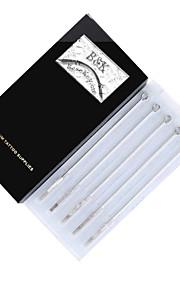 BaseKey 50Pcs Disposable Sterile Tattoo Needles Mix