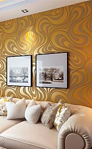 contemporains 3d art déco papier peint arrosage abstraction de l'or papier peint revêtement mural art mural non-tissé de tissu