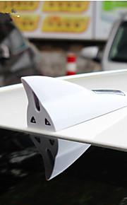 antenna squalo ha condotto la luce solare avvertimento auto accensione automatica del flash coda allarme squalo luce stile pinna caudale