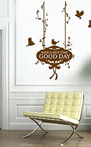 패션 목회 새 바구니 스타일의 평면 벽 스티커 벽 장식, PVC 이동식
