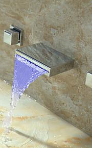Modern - DI Messing - LED / Waterval / Roteerbaar ( Chroom )