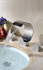 Modern - Waterval - Messing ( Chroom )