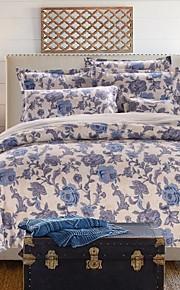 jogo de cama floral de 4pcs grosso lixar tecido para o Outono&temporadas de Inverno uso