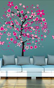 Weihnachten / Cartoon Design / Romantik / Mode / Landschaft Wand-Sticker 3D Wand Sticker , PVC 90CM×30CM×0.1CM×4Pcs