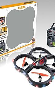 2,4 g 6 akseli 4ch LCD lähetin ulos ovesta rtf quadcopter suuri drone valolla
