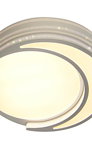 Moonlight Ceiling Mounted LED Changable Light Source Color White/Warm White/Yellow Modern Metal
