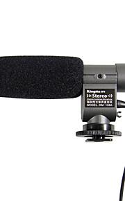 Kingma microfono stereo mic per T3i Canon T2i 7d 5d 60d Nikon D3s d7000 dslr dv k7 k5