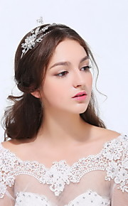 Women's Sterling Silver / Alloy Headpiece - Wedding / Special Occasion / Casual Headbands 1 Piece