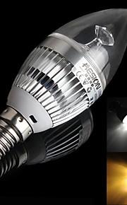 hesion® hs01003 e14 3W 270lm 3000K / 6000K 3-ledede varm hvit / kjølig hvitt lys pære m / cree (ac 85 ~ 265V)