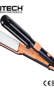 pritech merkevare 2 i en perfekt hår curler aluminiumsplate bredt flatt jern magi glattejernet berg curler