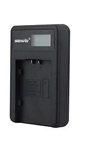 camera acculader met het scherm voor pentaxdu07 zwart