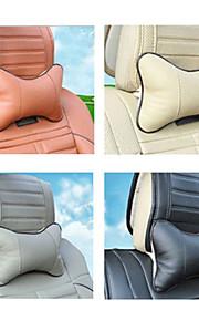 collo automobile cuscino resto cuoio dell'unità di elaborazione cuscino pad 4 colori