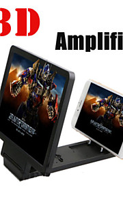 Nuevo teléfono móvil de pantalla ampliada de vídeo frecuencia amplificador / teléfono cubierta de la caja 3d