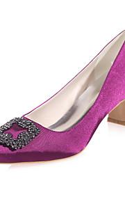 Chaussures de mariage - Noir / Bleu / Violet / Rouge / Ivoire / Blanc / Champagne - Mariage / Soirée & Evénement - Bout Carré - Talons -