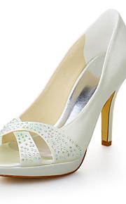 Chaussures de mariage - Ivoire - Mariage / Habillé - Talons / Bout Ouvert / A Plateau - Sandales - Homme