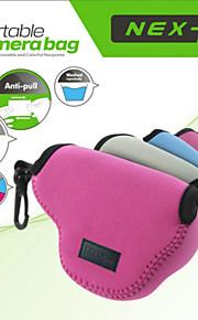 neopine beskyttende blød taske taske pose perfekt til sony nex5 nex5t nex5r nex3n 16-50mm linse