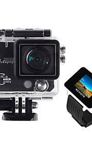 """Aoluguya x6 2.7k 2 """"TFT da 5 megapixel dv impermeabile macchina fotografica di sport con 1.5"""" la vigilanza a distanza rf, 170 'obiettivo"""