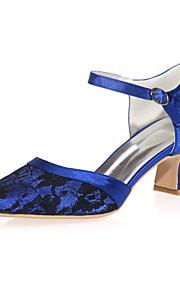 Chaussures de mariage - Noir / Bleu / Rose / Ivoire / Blanc - Mariage / Soirée & Evénement - Bout Carré - Talons - Homme