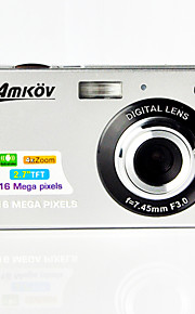 "amkov cdc3 digitale camera 16.0mp 2,7 ""LCD-scherm 550mAh lithiumbatterij hd digitale camera"