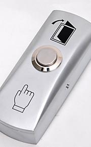exit druk knop schakelt elektrische deurslot voor toegangscontrole systeem