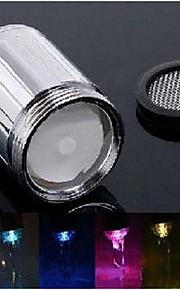 Keukenkraan Traditioneel LED A-Klasse ABS plastic Chroom