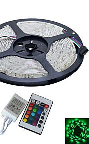 YouOkLight 5 M 300 3528 SMD Rouge Vert Bleu Découpable / Pour Véhicules / Auto-Adhésives / Couleurs changeantes 25 WBandes Lumineuses LED