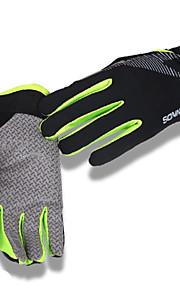 Guantes Ciclismo / Bicicleta Hombres Dedos completos A prueba de resbalones / Reduce la Irritación / Resistente a rayos UV / Protector