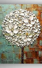 延伸枠で油絵現代抽象花の手塗りのキャンバス