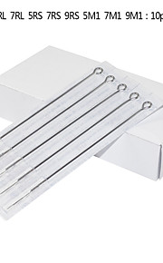 100pcs Assorted Tattoo Needles 316 Medical Stainless Steel Needles