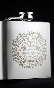 Personalized Stainless Steel Hip Flasks 5-oz Flask Gift