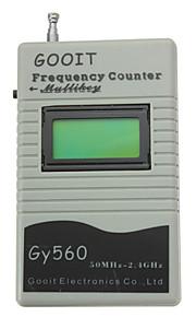 dearroad frekvens tæller mini håndgreb meter for to måde radiotransceiver gsm 50 MHz-2,4 GHz LCD display