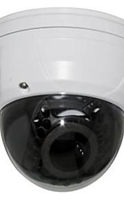 stor ir dome IP-kamera med vandal bevis og vf linse