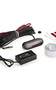 Автомобиль электромагнитный обратный резервного копирования антенны радиолокационного датчика светодиодный дисплей зуммер тревоги
