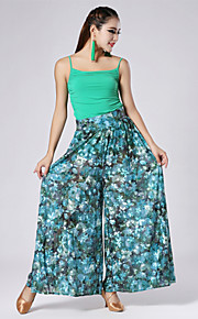 High-quality Printed Velvet Pattern Latin Dance Outfits for Women's Performance (More Colors)