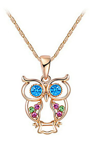 Women's Alloy Necklace Wedding / Birthday / Gift / Party / Special Occasion Cubic Zirconia