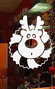 Christmas Window Sticker Contemporary , Art Deco 56cm*46cm