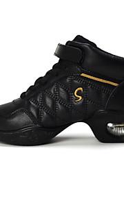 Zapatos de baile ( Negro / Oro ) - Jazz / Dance Sneakers / Moderno / Flamenco - No Personalizable - Tacón Cubano