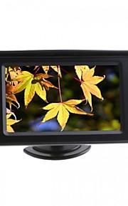 "dearroad 4,3 ""farve-LCD bil ede skærm til kamera dvd vcr"
