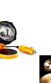 gele nood dc 12v oprolbare kabel werkende lamp voor auto interne